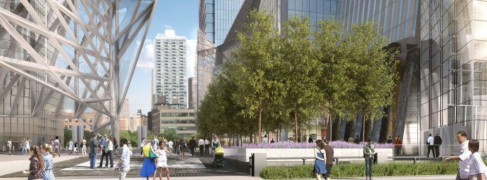 Det nyeste byutviklingsprosjektet på Manhattan i dag er Hudson Yards, helt vest i Midtown. Dette er et samarbeid mellom the City of New York, the State of New York og the Metropolitan Transportation Authority.