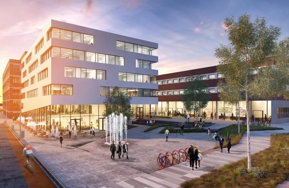 OBOS ønsker seg unge etablerere og barnefamilier i leilighetene som skal bygges på Ulven. På næringstomta ønsker de seg NRK eller en annen stor aktør.  - Det er få steder i byen du får tilgang til 85 000 kvadratmeter næringsbygg så sentralt og med gangavstand til t-banen, sier daglig leder Jon-Erik Lunøe, i Ulven AS.