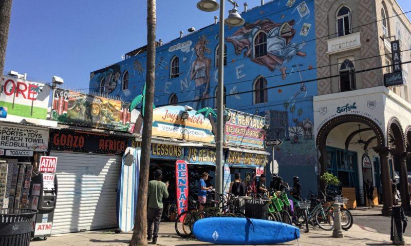 Venice Kinesis by Rip Cronk at Venice Beach, LA.